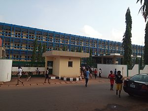 University of Nigeria, Nsukka - Image: Nnamdi Azikiwe Library University of Nigeria Nsukka