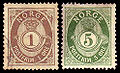 Norgeposthorn1877and1894.jpg