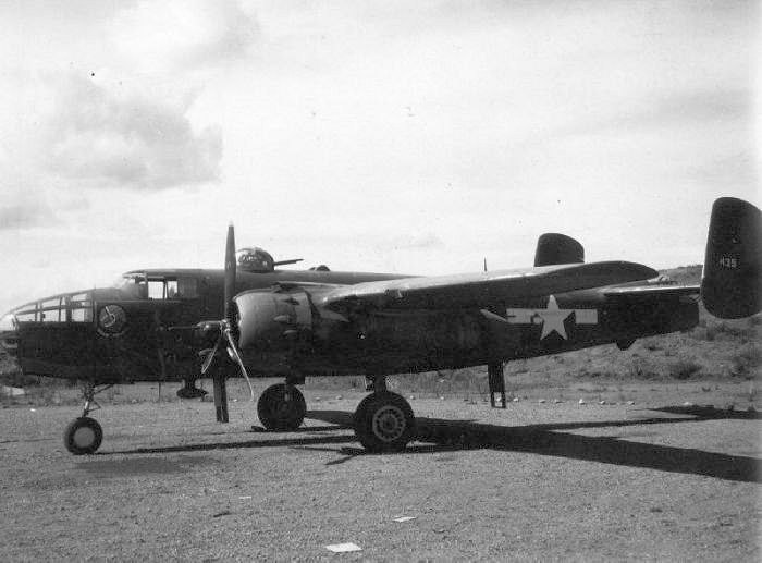 North American B-25C-15 Mitchell 42-32425 341BG 491 BS