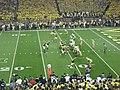 Notre Dame vs. Michigan football 2013 18 (Michigan on offense).jpg