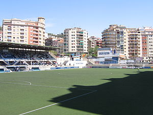 CE Europa - The Nou Sardenya stadium
