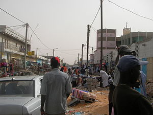 Nouakchott - Street scene in Nouakchott