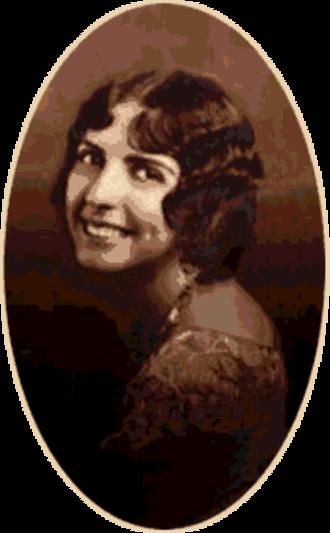 Novalyne Price Ellis - Novalyne Price Ellis, ca. 1930s