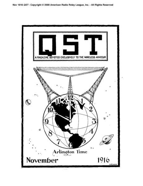 File:November 1916 QST.djvu