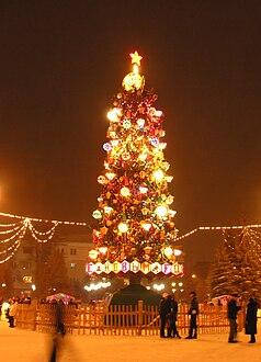 Рождественская ёлка Википедия 69