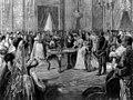 Nozze tra Vittorio Emanuele, principe di Napoli, ed Elena del Montenegro 1896.jpg