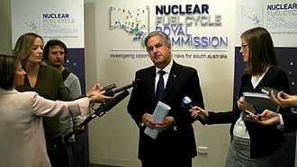 Nuclear Fuel Cycle Royal Commission - Nuclear Fuel Cycle Royal Commission press conference, Adelaide, 17 April 2015