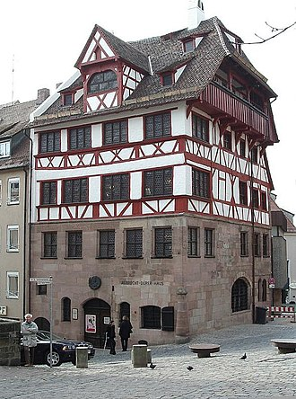 Bernhard Walther - Walther's residence where the observatory was located. Now the Albrecht Dürer House museum.