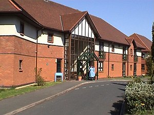 English: Nursing Home in Goldthorn Hill. This ...