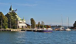 Nyländska Jaktklubben - Clubhouse at Valkosaari island