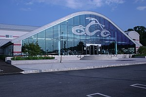 Orange County Choppers - Orange County Choppers World Headquarters near Newburgh.