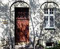 OPOLE kamienica 1913 ul Kościuszki 25,fragment -drzwi wejściowe. sienio.JPG