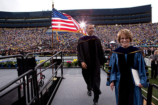 2010 : President Obama Delivers Commencement Address at University of Michigan