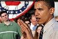 Obama speech in Hillsboro Illinois (April 26, 2004).jpg