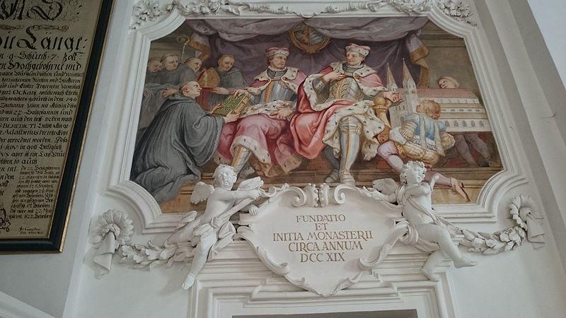 Gründung des Klosters Tegernsee
