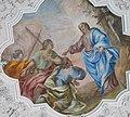 Oberndorf in Tirol. Pfarrkirche, Fresko Berufung der Apostel Philippus u. Jakobus.jpg