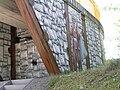Oberursel Hohe Mark Fußgängerbrücke mit Keltenmotiven 3.JPG