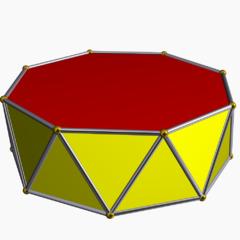 Octagonal antiprism