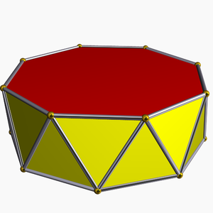 Octadecahedron - Image: Octagonal antiprism
