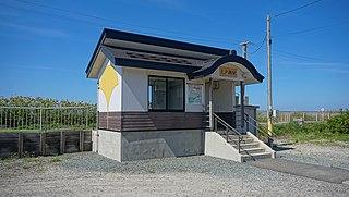 Ōdose Station Railway station in Fukaura, Aomori Prefecture, Japan