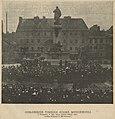 Odsłonięcie pomnika Adama Mickiewicza w Warszawie, w dniu 24-ym Grudnia 1898 roku. (74219).jpg
