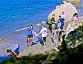 Off duty GI volunteers clean up Guantanamo's glass beach -b.jpg