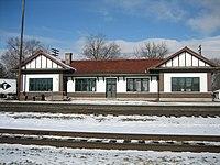 Ogle County Burlington Chicago and Quincy depot Oregon Il.jpg