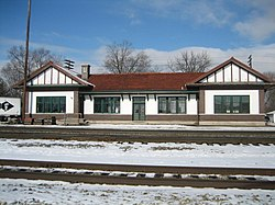 Ogle County Burlington Chicago and Quincy depot Oregon Il.jpg
