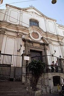 Santa Maria ad Ogni Bene dei Sette Dolori Church in Naples, Italy
