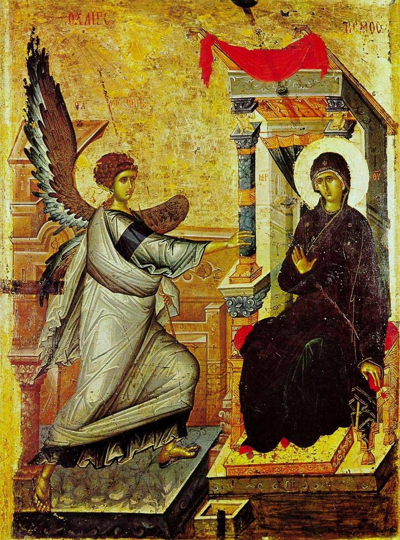 Ohrid annunciation icon