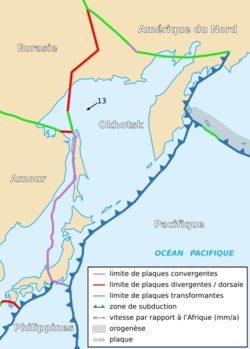 Image illustrative de l'article Plaque d'Okhotsk