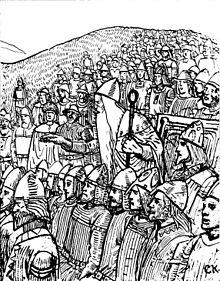 Þorgnýr il Lögsögumaður parla ad Uppsala, di C. Krogh