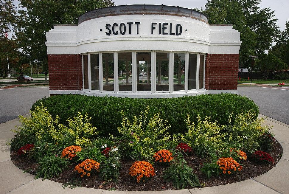 Old Scott Field Gate