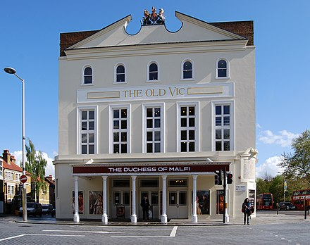 The Old Vic (photographed in 2012), where Olivier honed his skill as a Shakespearean Old Vic0185.JPG