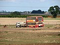 Old double-decker bus parked in field - geograph.org.uk - 2047153.jpg