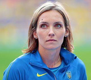 Olha Saladukha Ukrainian triple jumper