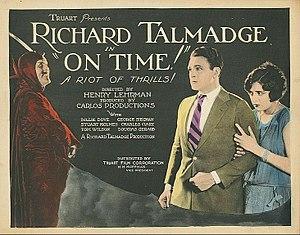 On Time (film) - Lobby card
