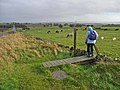 One-sided stile on Hadrian's Wall National Trail - geograph.org.uk - 1023612.jpg