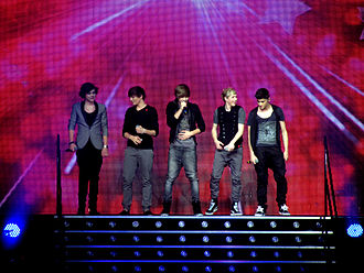 Niall Horan - Horan with One Direction on The X Factor Live Tour in 2011