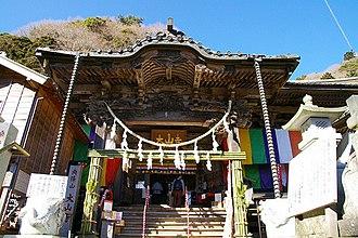 Mount Ōyama (Kanagawa) - Image: Ooyamadera (Isehara 200801)