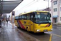 Opava, Východní nádraží, autobus TQM na lince 264 (02).jpg