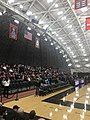 Open side and banners at Jadwin Gymnasium 2018.jpg