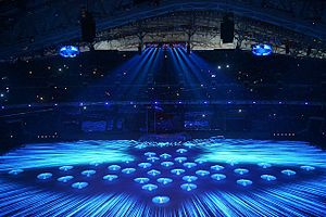 2014 Winter Olympics opening ceremony - Opening ceremony performance.