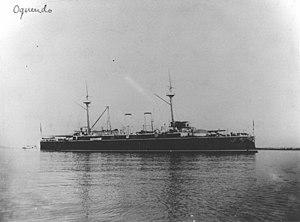 Spanish cruiser Almirante Oquendo - Almirante Oquendo