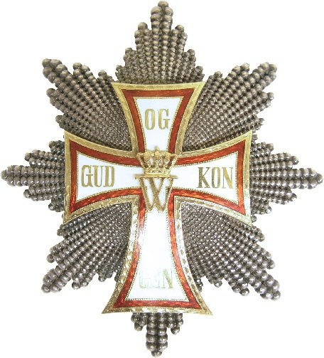 Order of the Dannebrog Grand Cross Star 1850