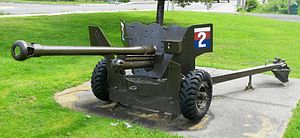 56th (King's Own) Anti-Tank Regiment, Royal Artillery - Ordnance QF 6 pounder Anti-Tank Gun