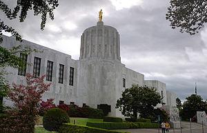 Salem, Oregon - Oregon State Capitol