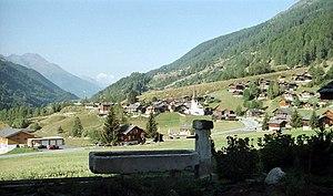 Grafschaft, Switzerland - Image: Ortsansicht Biel