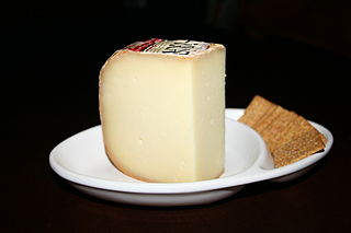 Ossau-Iraty French cheese made from sheep milk