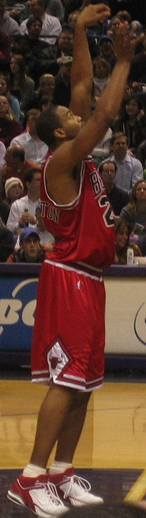 Othella Harrington - Harrington attempting a free throw in 2006.